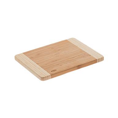 Bicolor Cutting Board Leone, Bamboo, Natural, 1 pc, 16x22x0.9cm