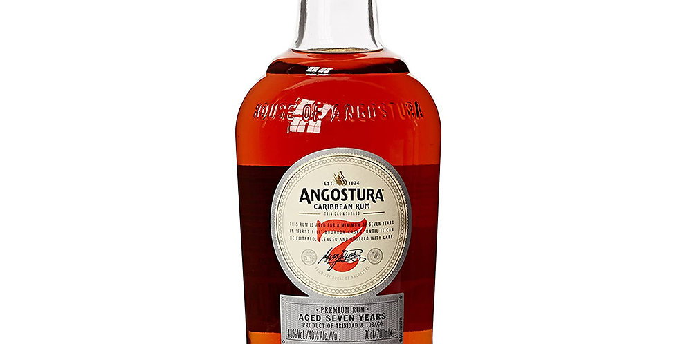 Angostura Aged 7 Years Caribbean Rum, 700ml