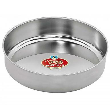 Baking Pan Venus, Deep, Round, Stainless Steel, Ø40cm