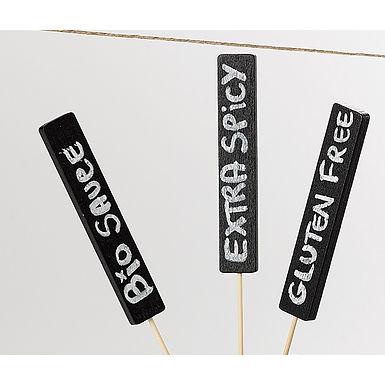 Blackboard Stick with White Marker Leone, 50 pcs, 16.5cm