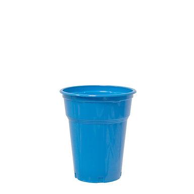 Disposable Cup, PP, Blue, Ø9.5x11cm, 7.2gr, 300ml