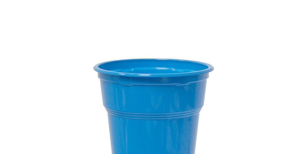 Disposable Cup, PP, Blue, Ø9.5x11cm, 7.2gr, 300ml