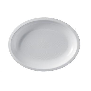 Disposable Plate Goldplast, Oval, PP, 5 Colors, 25.5x19.5cm