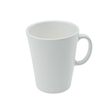 White Cup Leone, Melamine, White, 1 pc, Ø8.5x10cm, 320ml