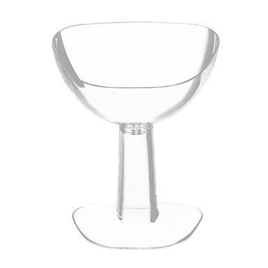 Disposable Finger Food Cup Goldplast Viva, Transparent, PS, 7x5.8x8.9cm, 55ml