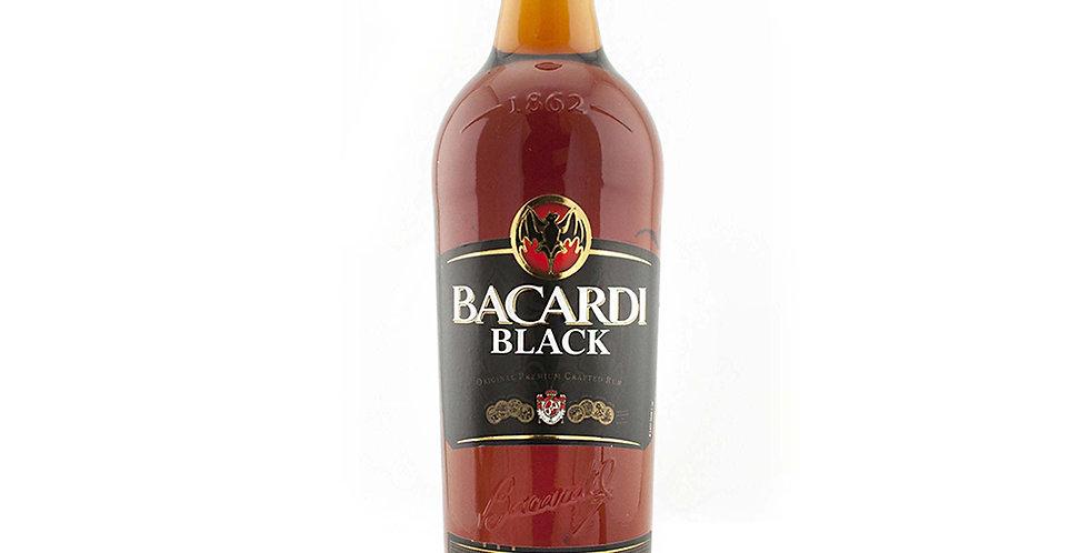Bacardi Black Rum, 700ml