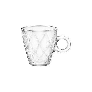 Cappuccino Cup Bormioli Rocco Kaleido, Tempered, 220ml