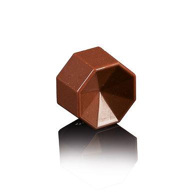 Octagon Chocolate Mold MA1010 Martellato Prisma, PC, 28 pcs, Ø30x15.5mm, 11g