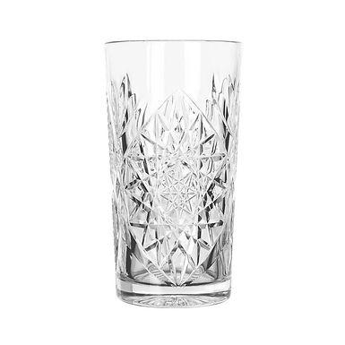 Cooler Long Drink Glass Libbey Hobstar, 414ml
