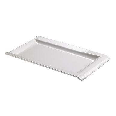 Rectangular Tray Leone, Melamine, White, 1 pc, 44x27x3cm