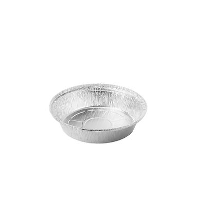 Aluminum Container for Takeaway/Delivery, Ø185x37mm, 693ml
