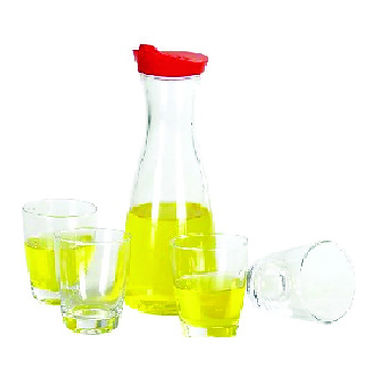 Carafe with Lid, Glass, 850ml