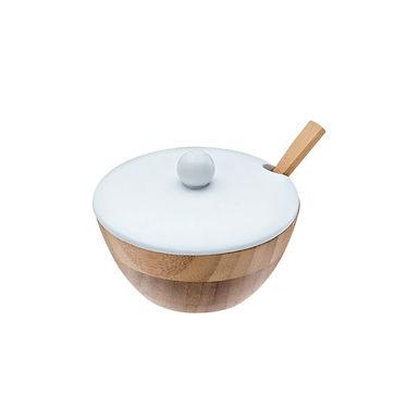 Chese Bowl Leone, Bamboo, Natural, 1 pc, Ø11x5cm