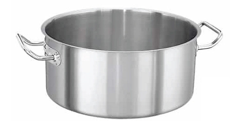 Casserole Pot Super Casa, Inox 18/10, 10.5L, Ø32x13cm