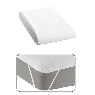 Waterproof Mattress Protector Fragente, with Anchor Bands, 100x200cm