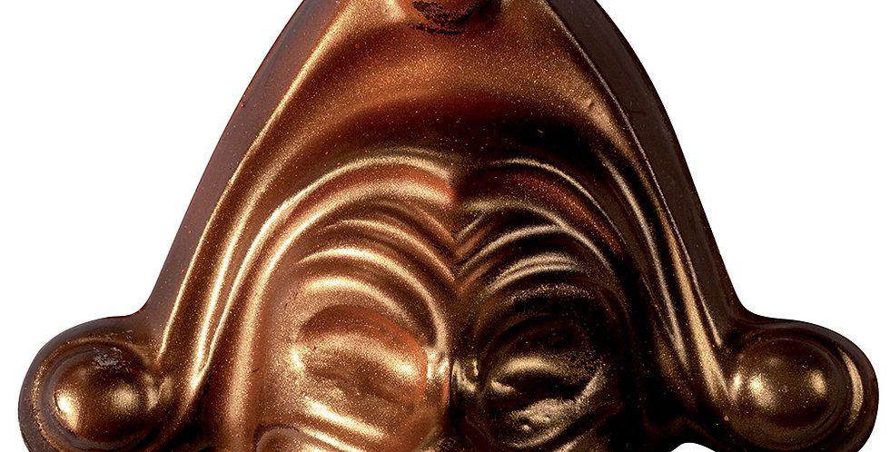 Carnival Mask Chocolate Mold Martellato, Thermoformed Plastic, 130x105x35mm