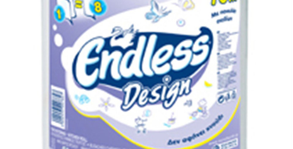 Kitchen Roll Endless, with Figures, 2ply, 700gr, 364 Sheets/Roll, 71m