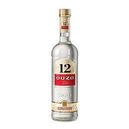 12 Ouzo, 700ml