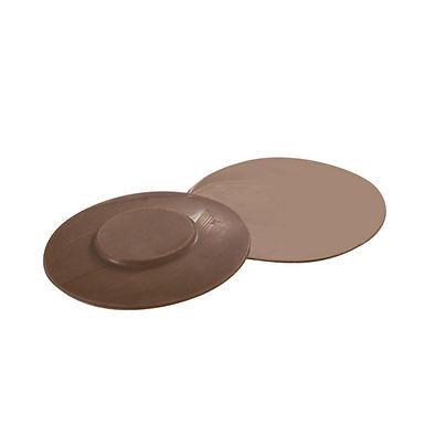 Big Saucers Mold Martellato Coffee Time, Polycarbonate, 3 pcs, Ø81x8mm, 10g