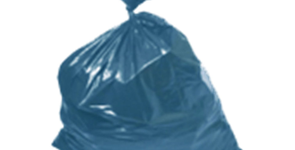 Garbage Bag for Thick Rubble, Blue, 1kg(~13pcs) of 45x75cm Bags