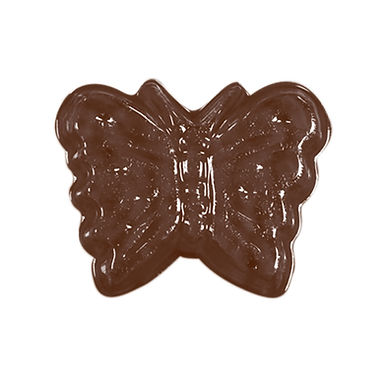 Butterfly Mold Martellato, Thermoformed Plastic, 14 pcs, 36x27x8mm