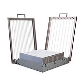 Double Guitar Martellato EASY SYSTEM, Alu., Frames NOT Incl., 35x35cm Cut. Place