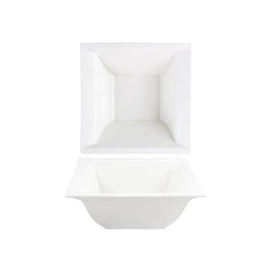 Bowl Alar Sílice, Porcelain, White, 10.5x10.5cm