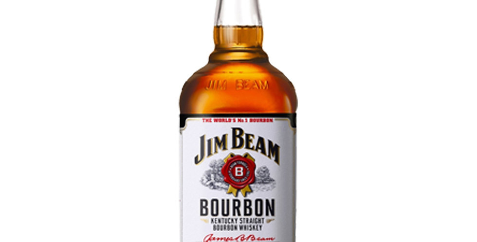 Jim Beam Bourbon Whiskey, 500ml