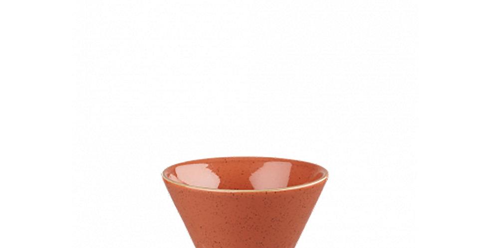 Sauce Bowl Churchill Stonecast, Round, Spiced Orange