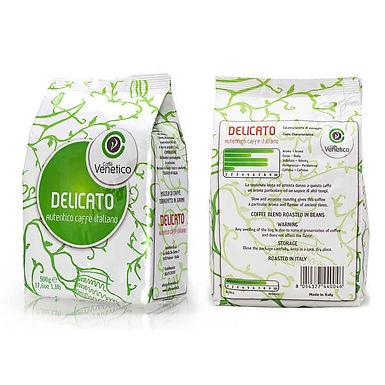 Coffee Caffe Venetico Delicato, 80% Arabica, 20% Robusta, 0.5kg