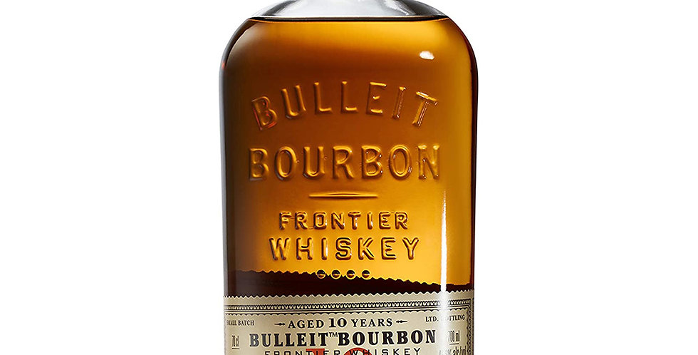Bulleit Bourbon Aged 10 Years Frontier Whisky, 700ml