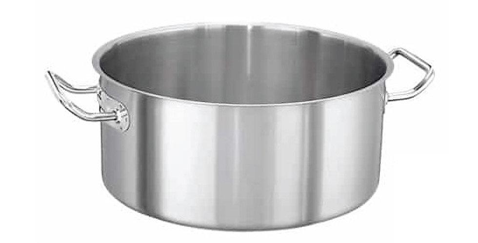 Casserole Pot Super Casa, Inox 18/10, 9.1L, Ø30x13cm