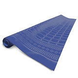 Disposable Tablecloth Roll Fato Damask, Blue, 1.20x50m