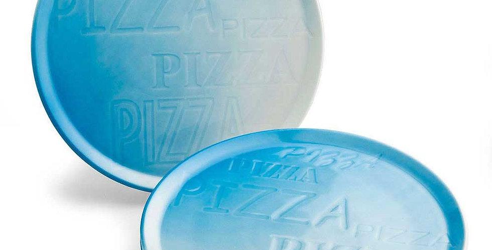 Pizza Plate Tognana Cinzia Pizza, Blue, Porcelain, Round, Ø33cm