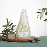 Laundry Detergent egreeno Unscented, 91% Natural, Biodegradable, 970ml,26 Washes