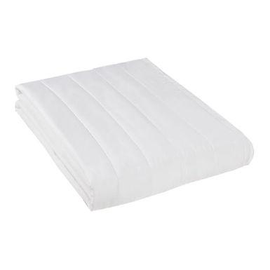 Single Quilt, White, Cover 100% Mercerized Cotton, Quilt 120gr/m², 160x240cm