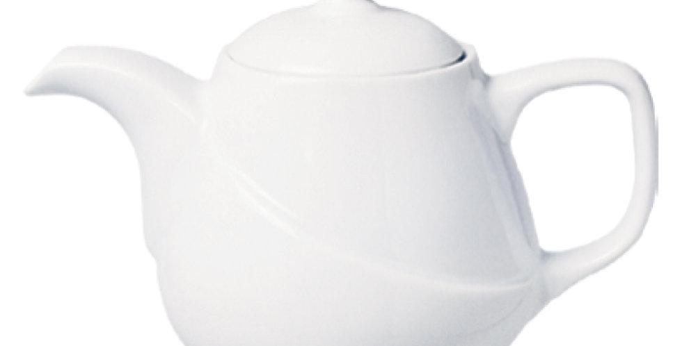 Teapot&Coffee Pot Gural Porselen X-Tanbul, Porcelain, White, 2 Sizes