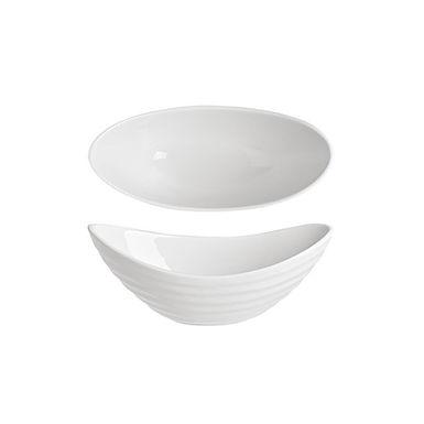 Boat Bowl Alar Sílice, Porcelain, White, 16.5cm