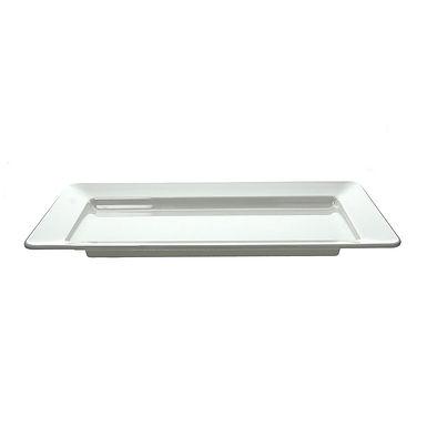 Serving Plate Tognana Show Plate, Melamine, Rectangle, 2 Colors, 41x40.5cm