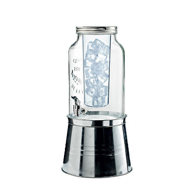 Big Jars with Base with Tap Leone, 1 pc, 6L