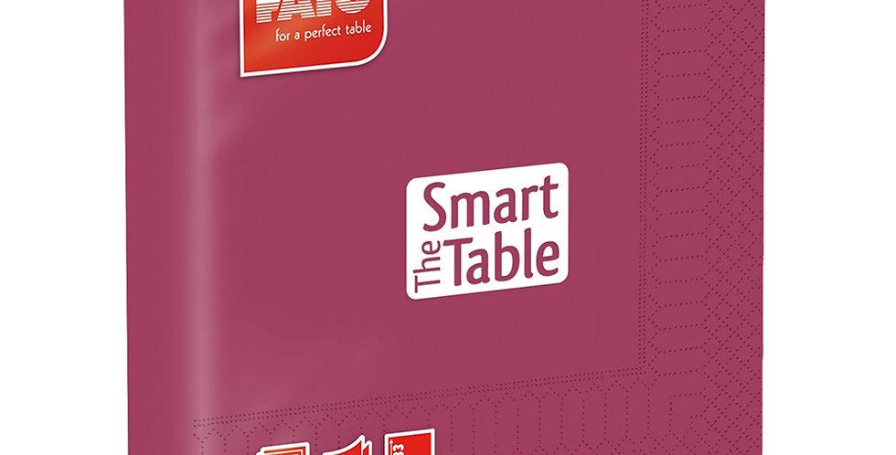 Napkin Fato Smart Table, Bordeaux, 2 ply, 50pcs., 33x33cm