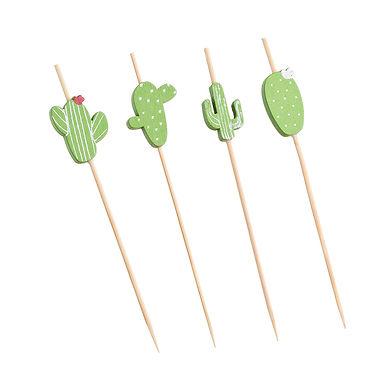 Cactus Sticks Leone, Bamboo, 100 pcs, 12cm