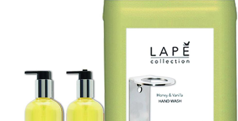 Honey Vanilla Liquid Soap Lape Collection, 2x300ml, 1x5L, Single Base