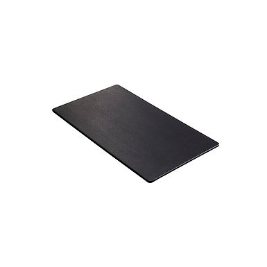Rectangular Tray Leone, Melamine, Black, Slate Effect, 1 pc, GN 1/3, 32x17x1.5cm