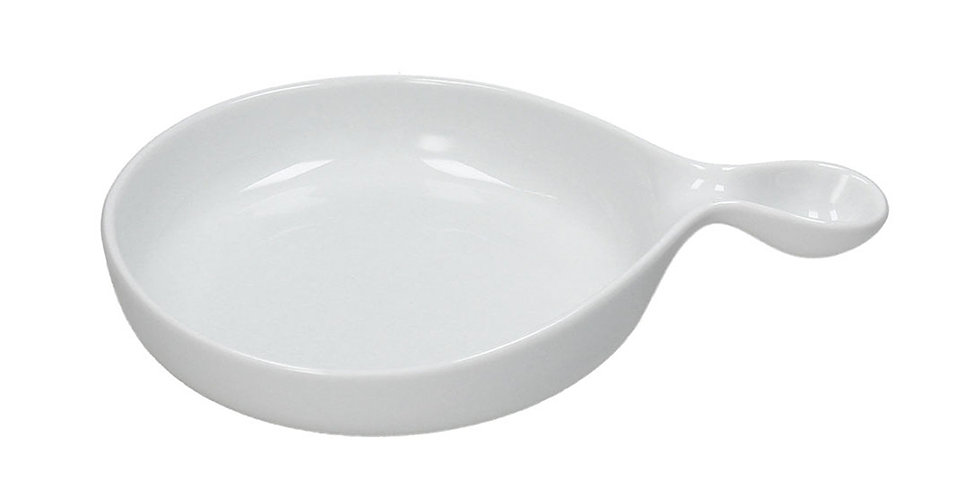 Serving Plate with Handle Tognana Gourmet, Porcelain, Oval, 3 Sizes