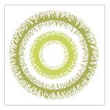 Disposable Tablecloth Fato Airlaid, Garden Natural Design, 1x1m