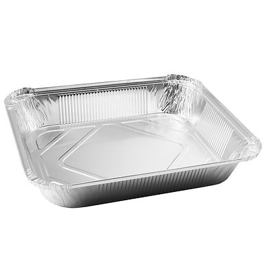 Aluminum Container for Takeaway/Delivery, 321x261x50mm, 3240ml