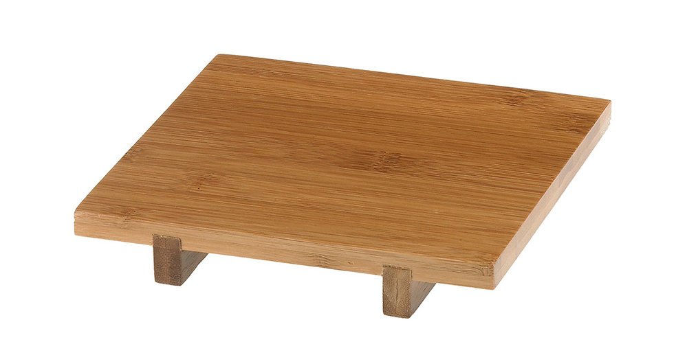 Bamboo Tray for Amenities Leone, 15x15x2.5cm