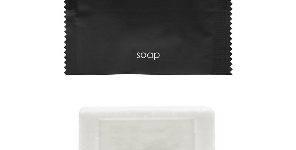 Rectangular Soap Artisti Italiani, Aloe Vera, Black Sachet, 15gr