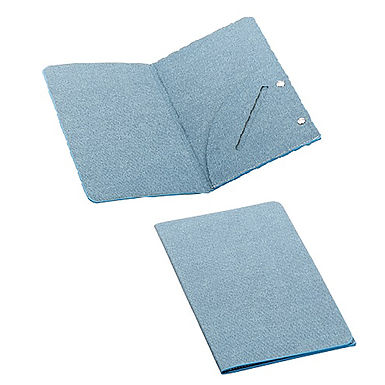 Bill Holder Leone Texas, Leatherette, Light Blue Jeans, 1 pc, 22x12.5cm